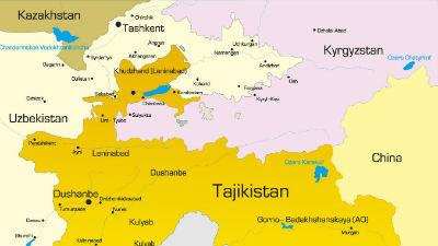 На границе Киргизии и Таджикистана второй день продолжается конфликт
