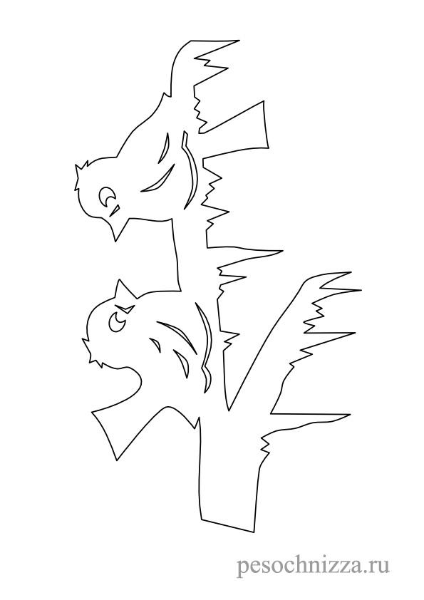 pticki iz bumagi