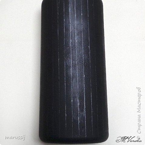 Декор предметов Мастер-класс Роспись По мотивам вышивки Бутылки стеклянные фото 5
