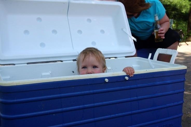 2. Водичку можно сделать похолодней? бассейн, своими руками
