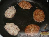 Котлеты из гречневой каши с картофелем