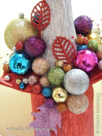 Декор предметов Мастер-класс Новый год Моделирование конструирование новогоднее дефиле + мк Бумага гофрированная фото 16