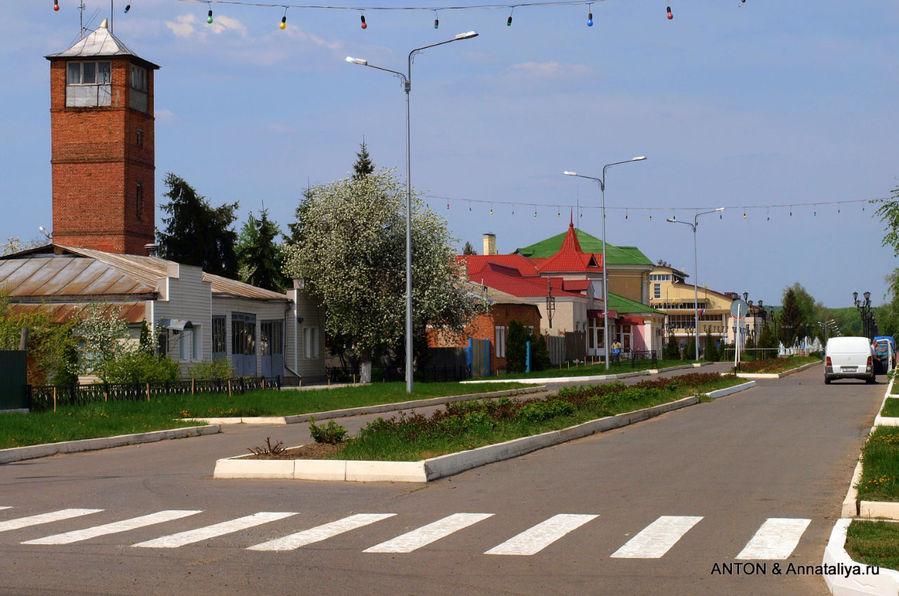 Российская провинция: чистая и ухоженная