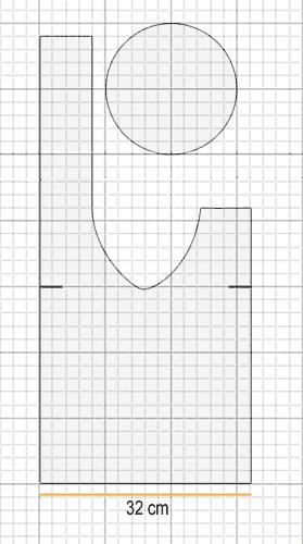 Сумочка для клубков на руку схема