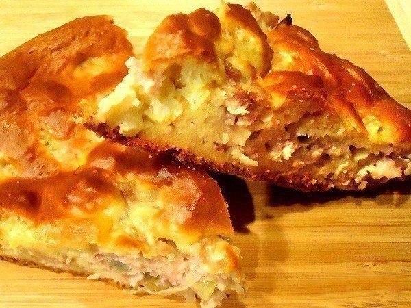 Быстрый и простой пирог с мясом — элементарно просто и легко