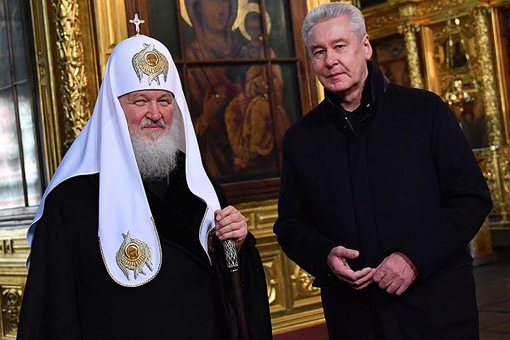 Сергей Собянин о программе строительства храмов в Москве: 70 уже построено, более 50 сейчас строят