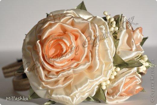 Розы из атласных лент своими руками мастер класс страна мастеров