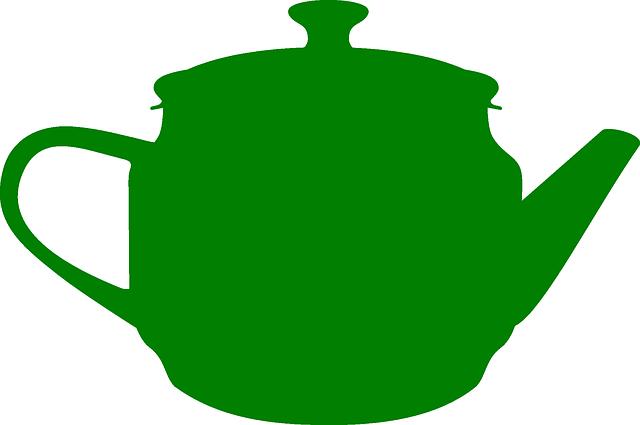 Чайник, Зеленый, Чай, Кухня, Варка