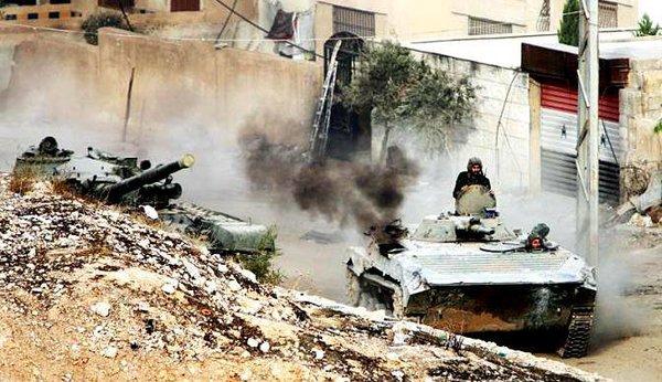Сирийская армия выбила боевиков из пяти городов в Растане