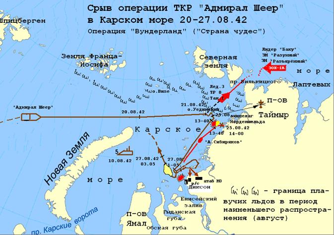 подводные лодки в карском море