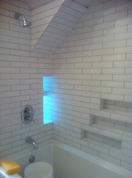 Ниша в ванной фото 9