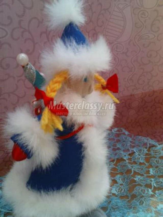 Кукла Тильда - Снегурочка. Мастер класс с пошаговым фото / Тильда / Мастер класс. Тильда