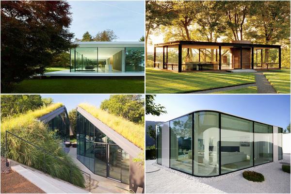 10 самых удивительных стеклянных домов мира, или жизнь за стеклом