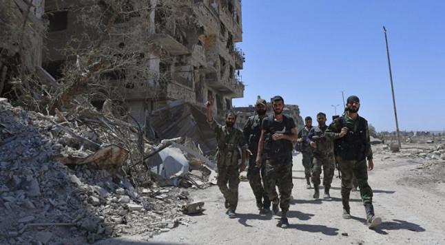 США предостерегли власти Сирии от наступления на юго-западе страны