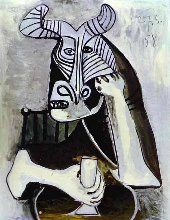 Пабло Пикассо. Король Минотавров. 1958 год