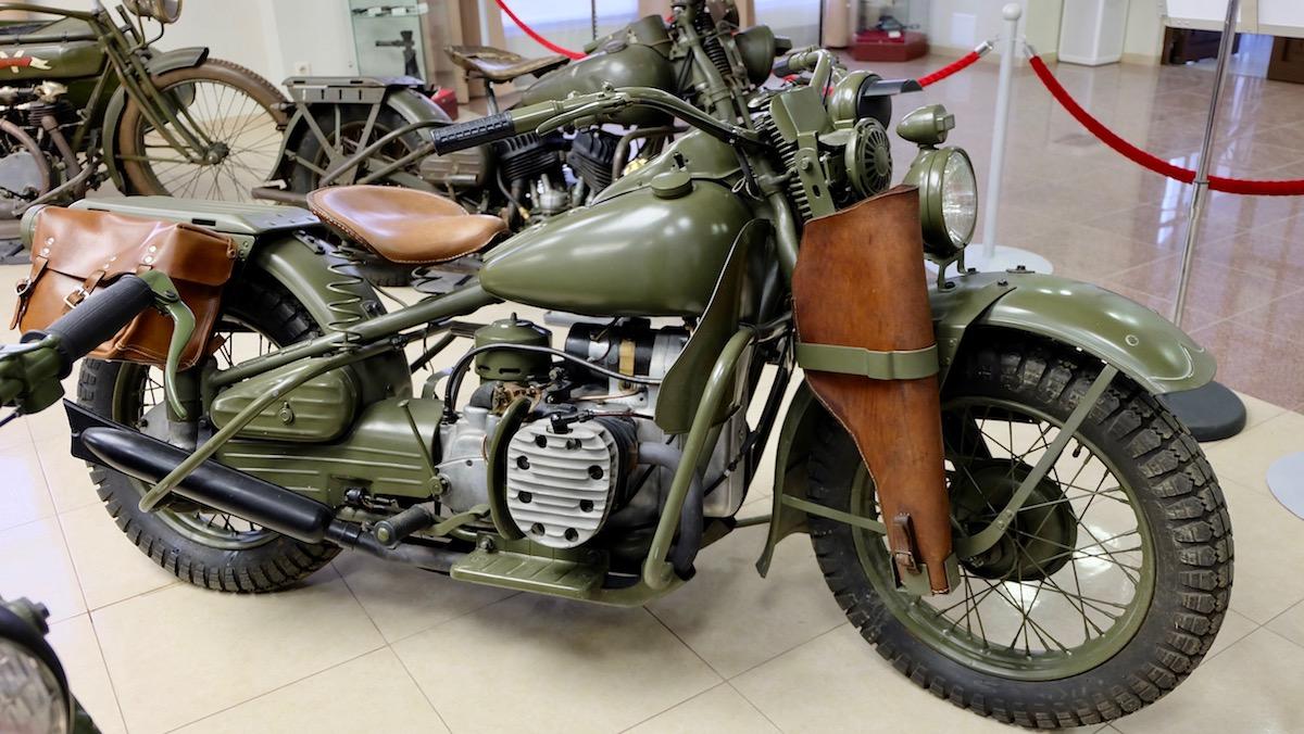 Мотоцикл, который удивил