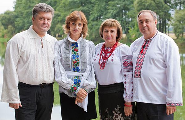Дети порошенко петра алексеевича фото