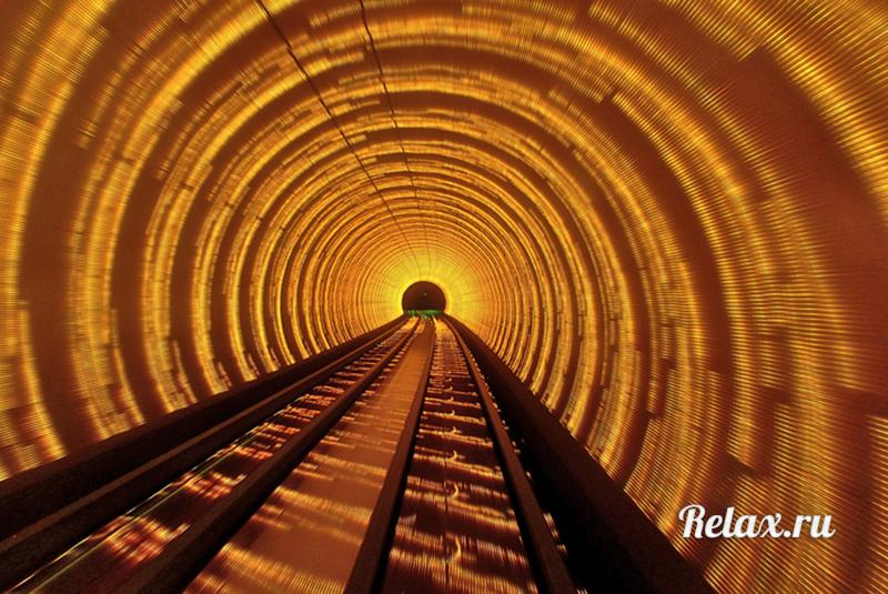 11 фото самого космического в мире 3D тоннеля