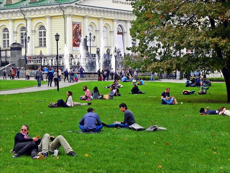 Живописный парк Москвы - Александровский парк