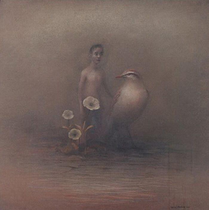 Мрачноватые картины Hessel M…