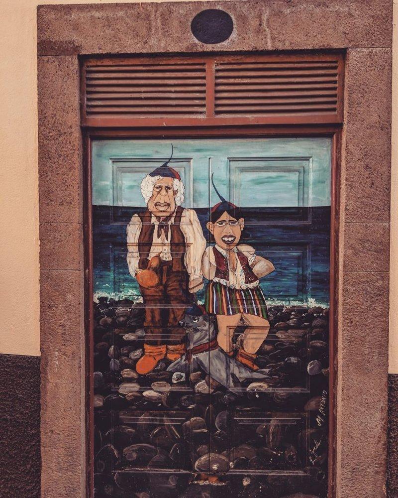 26. дверь, картина, мадейра, португалия, путешествие, фотография, фотомир