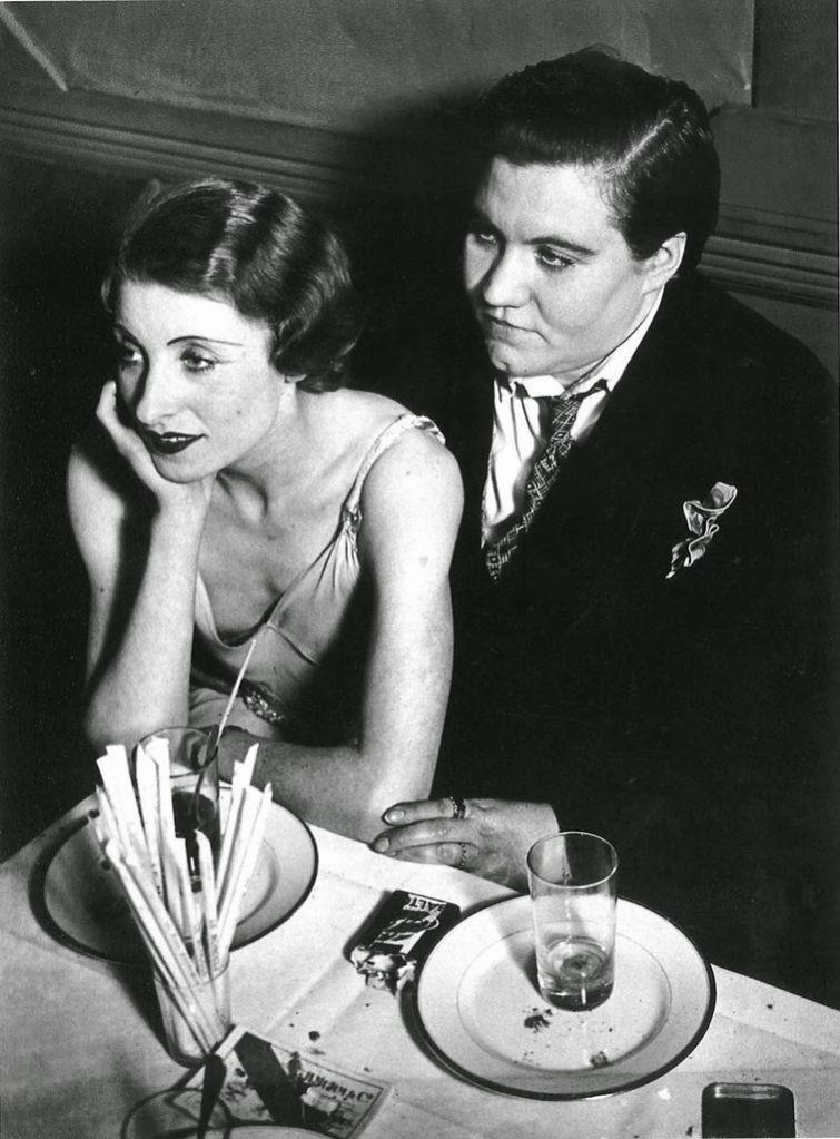 Лесбийская пара. Париж, 1932 год знаменитости, история, редкие кадры, фото