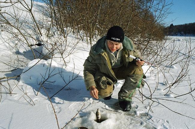 ловля плотвы зимой на мормышку на малых реках