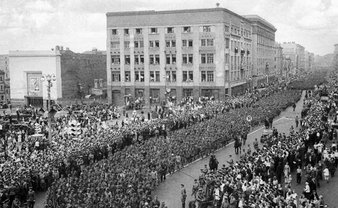 Шутка Сталина: Немцев в Моск…