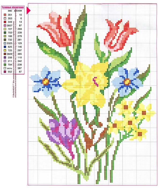 Вышивка цветовсхемы 67