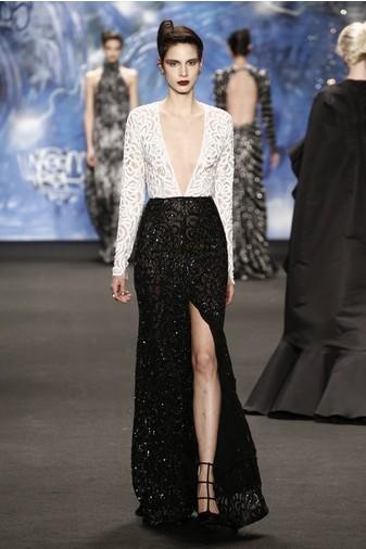 20 самых откровенных платьев Недели моды в Нью-Йорке