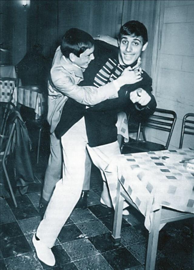 Андриано Челентано. 1950-е 1950, Андриано Челентано