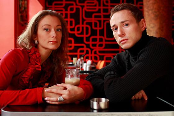 Дмитрий Исаев и Инна Гинкевич (вторая жена актёра)