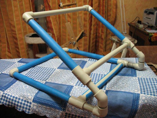 Станок для вышивания сделать своими руками из труб