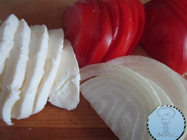 Баклажановый сендвич