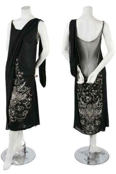 Подлинное платье 1920-х годов.