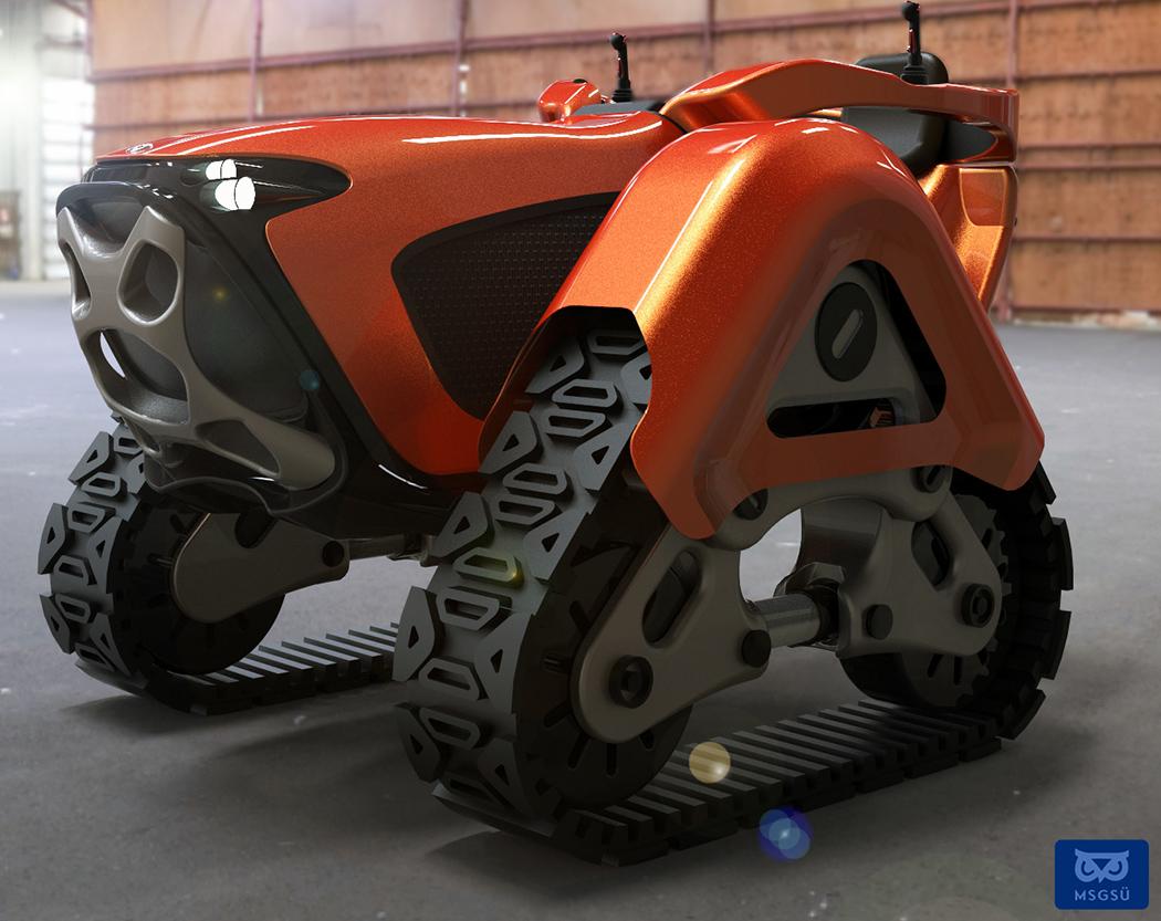 Маленький трактор для великих свершений