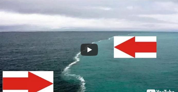Линия, где встречаются Атлантический океан и Тихий океан. 16 поразительных мест на Земле, где видна граница между водными пространствами