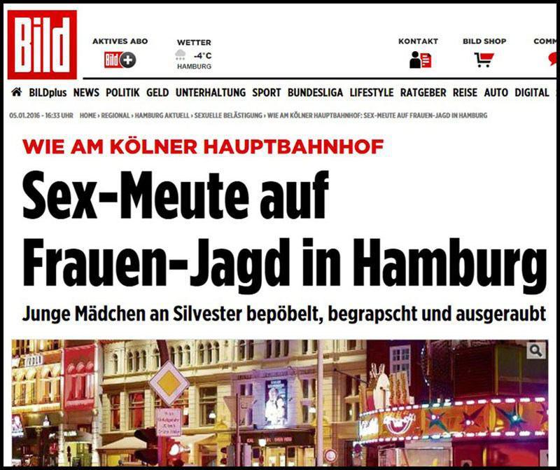 Беженцы начали насиловать немок не только в Кёльне