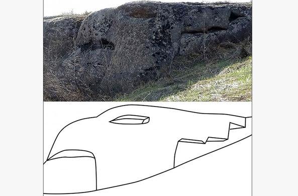 Каменных дракона и грифона возрастом в 12 000 лет нашли на Алтае
