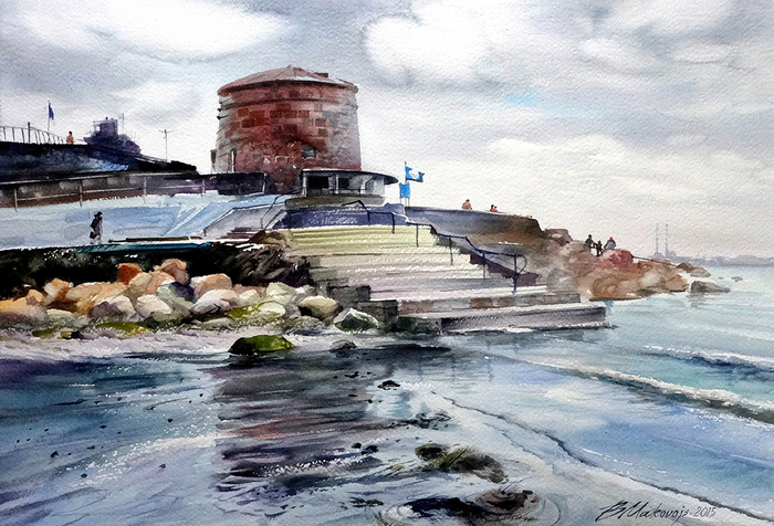Маковой Валерий Георгиевич - 'Ирландское море'