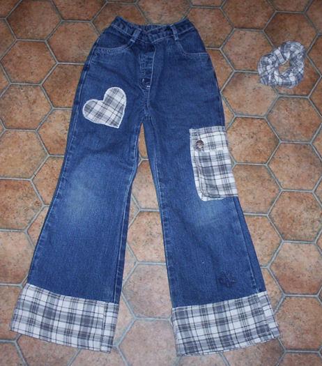 Как удлинить детские джинсы своими руками 39