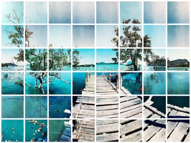 Мозаичные фотографии Виктора Третьяка мозаика, природа