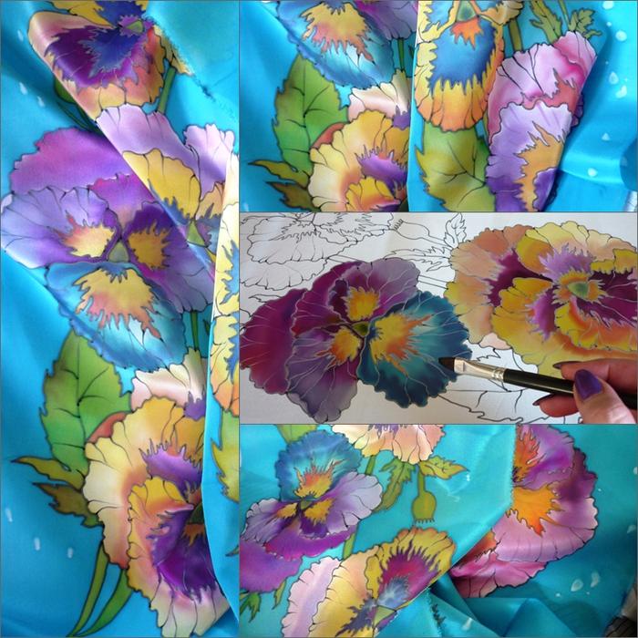 анютки шарф (700x700, 434Kb)