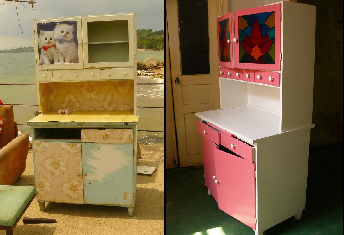 Дизайн старой мебели своими руками 496