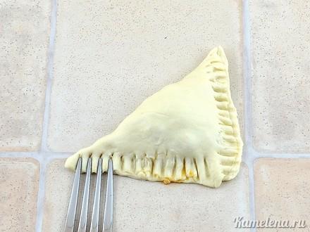 Пирожки с капустой — 8 шаг