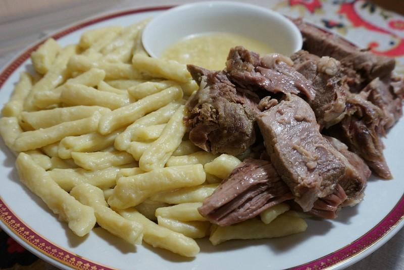 Как приготовить традиционные чеченские галушки