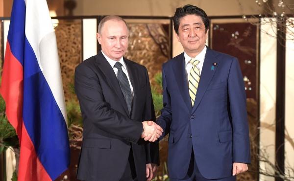 Путин 27апреля проведет переговоры спремьер-министром Японии