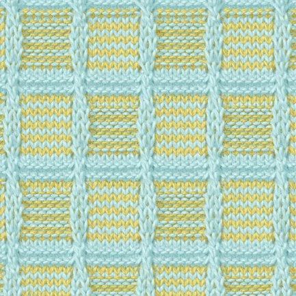 Симпатичная подборка простых узоров спицами