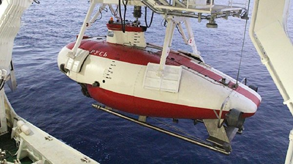 Аппарат «Русь» - уникальный глубоководный аппарат двойного назначения