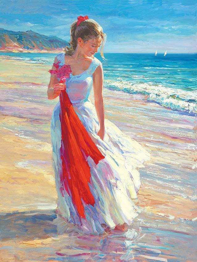 Красота и нежность в солнечных картинах художника Владимира Волегова